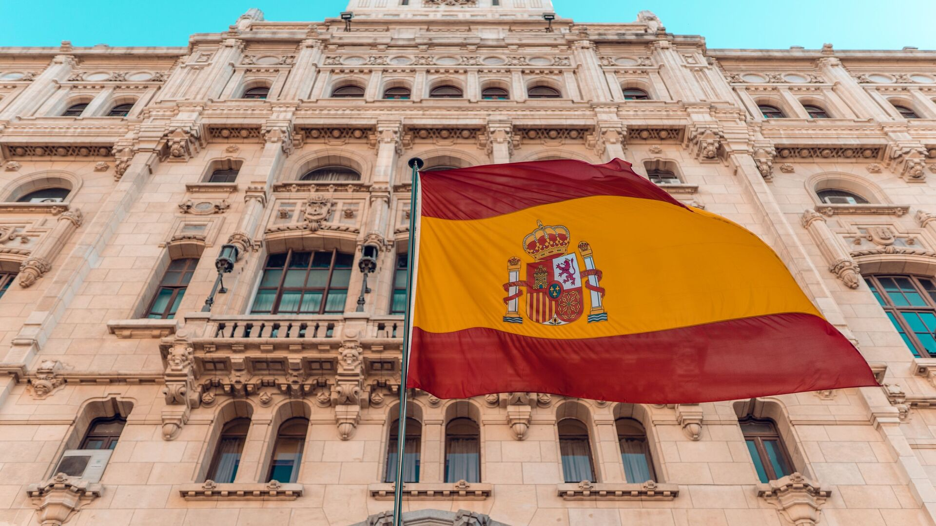 La bandera de España  - Sputnik Mundo, 1920, 07.10.2021