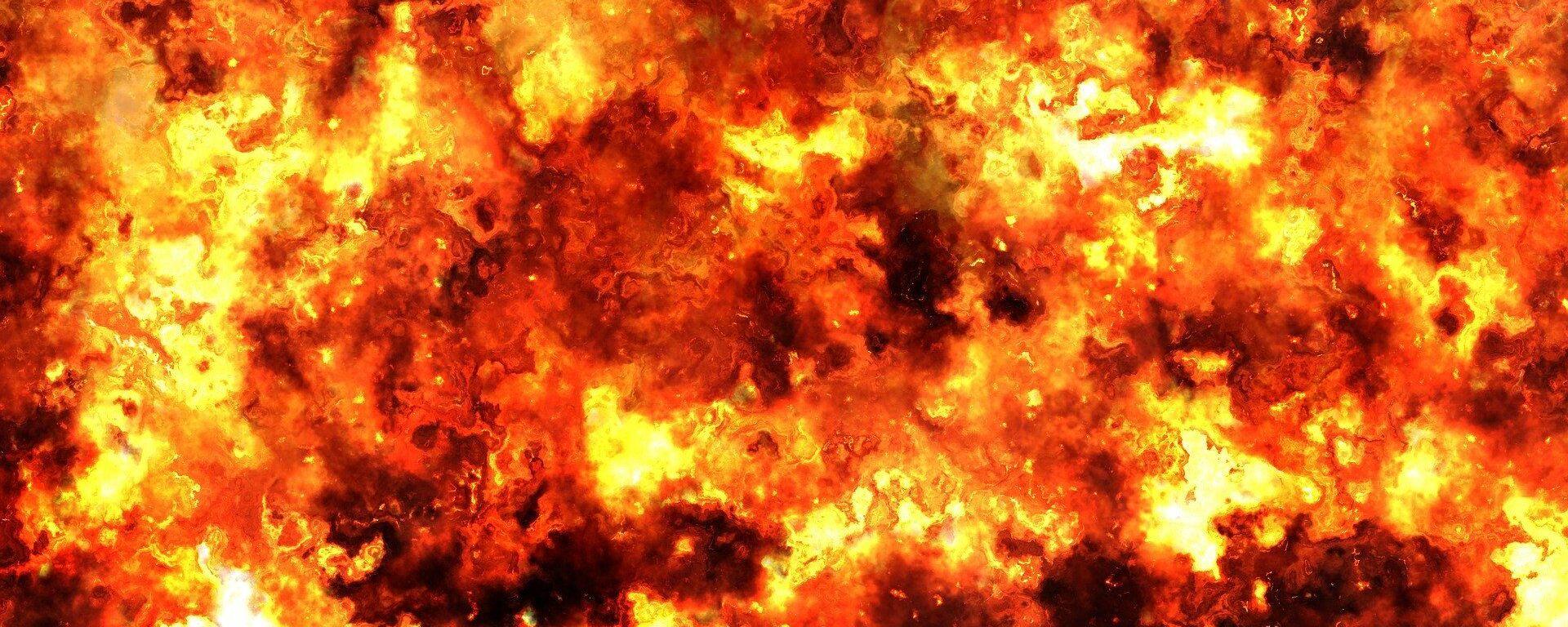 Una explosión (imagen referencial) - Sputnik Mundo, 1920, 20.10.2020