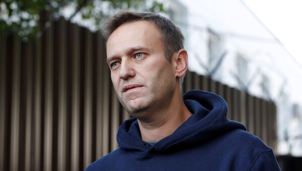 Alexéi Navalni, opositor ruso - Sputnik Mundo