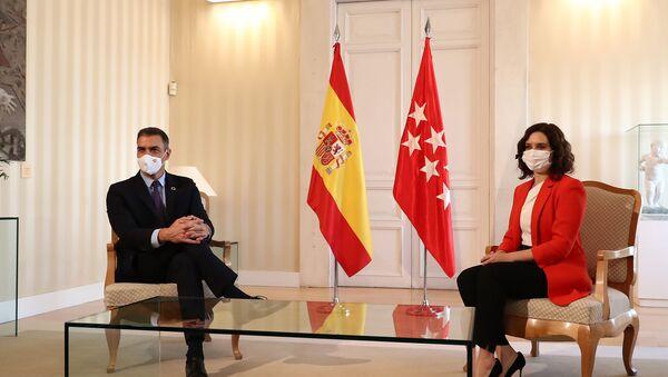 El presidente del Gobierno se reúne con la presidenta de la Comunidad de Madrid - Sputnik Mundo