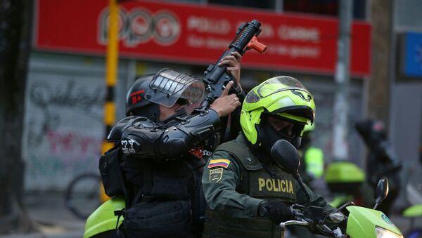 Policía de Colombia (Archivo) - Sputnik Mundo