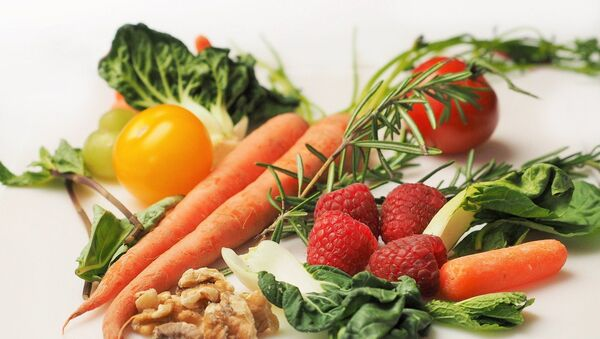 Comida vegetal (imagen referencial) - Sputnik Mundo