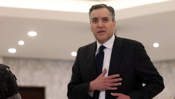 Mustapha Adib, el primer ministro de Líibano renunciado - Sputnik Mundo
