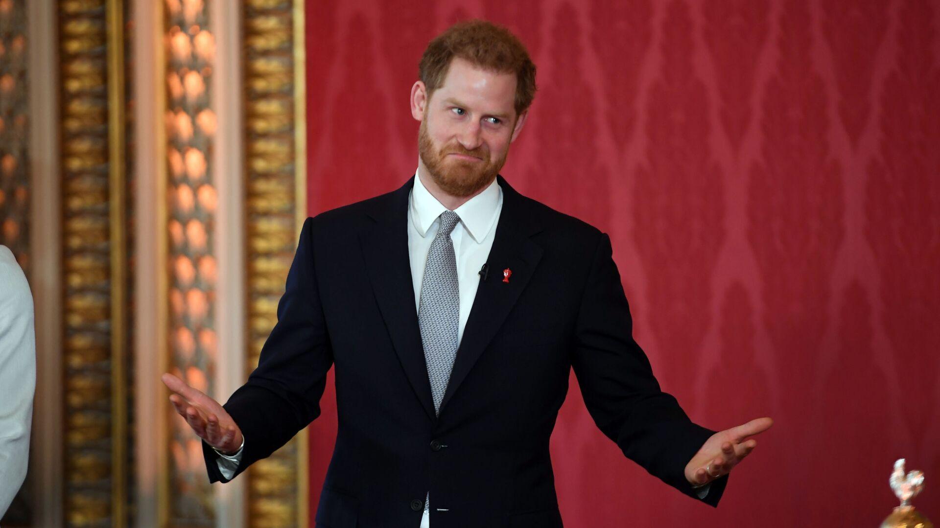 El príncipe Harry, duque de Sussex - Sputnik Mundo, 1920, 12.03.2021