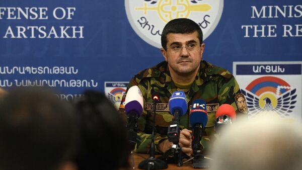 Araik Arutiunián, presidente de la república autoproclamada de Nagorno Karabaj - Sputnik Mundo