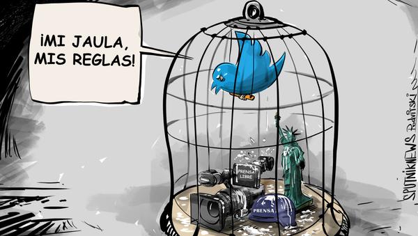 Libertad de prensa de Twitter, ¿censura a quien quieras y cuando quieras? - Sputnik Mundo