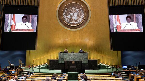 La 75 asamblea general de las Naciones Unidas - Sputnik Mundo