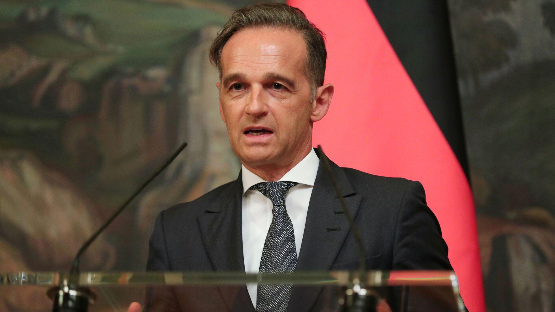 Heiko Maas, el ministro de Asuntos Exteriores alemán - Sputnik Mundo, 1920, 08.09.2021