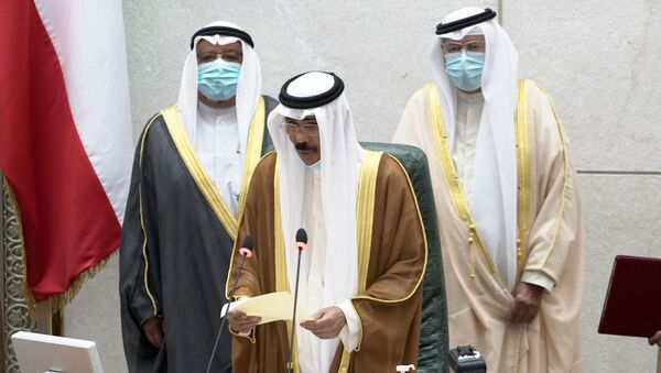 Nawaf al Ahmad al Sabah, nuevo emir de Kuwait - Sputnik Mundo