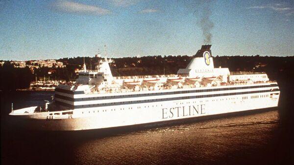 Buque Estonia (archivo) - Sputnik Mundo