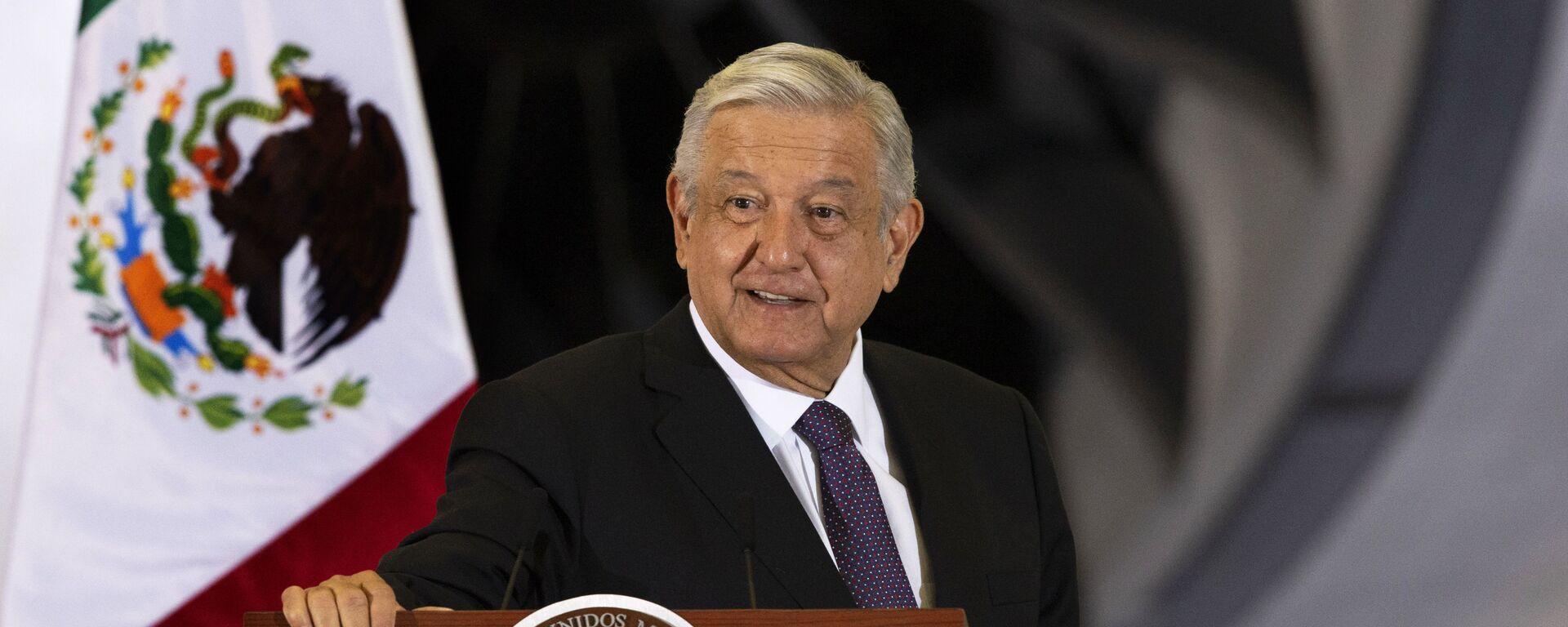 El presidente de México, Andrés Manuel López Obrador - Sputnik Mundo, 1920, 13.01.2021