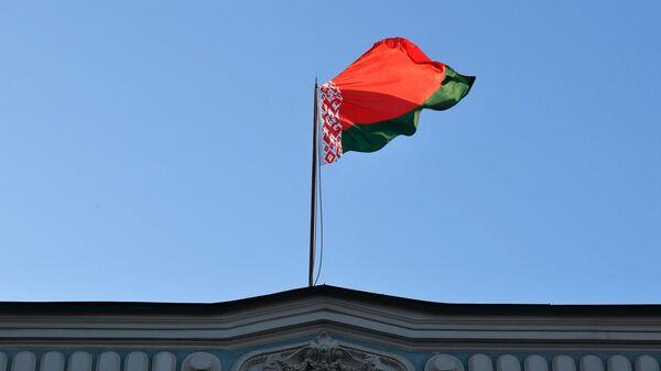 Bandera de Bielorrusia (imagen referencial) - Sputnik Mundo