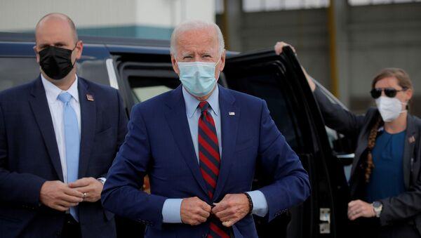 Joe Biden, candidato presidencial del opositor Partido Demócrata de EEUU - Sputnik Mundo