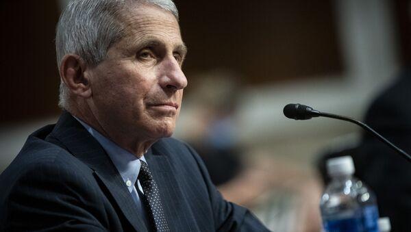 Anthony Fauci, principal experto de EEUU en enfermedades infecciosas - Sputnik Mundo