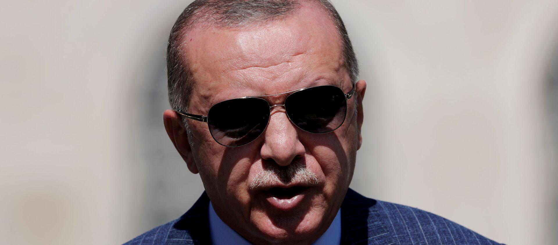 Recep Tayyip Erdogan, presidente de Turquía  - Sputnik Mundo, 1920, 19.10.2020