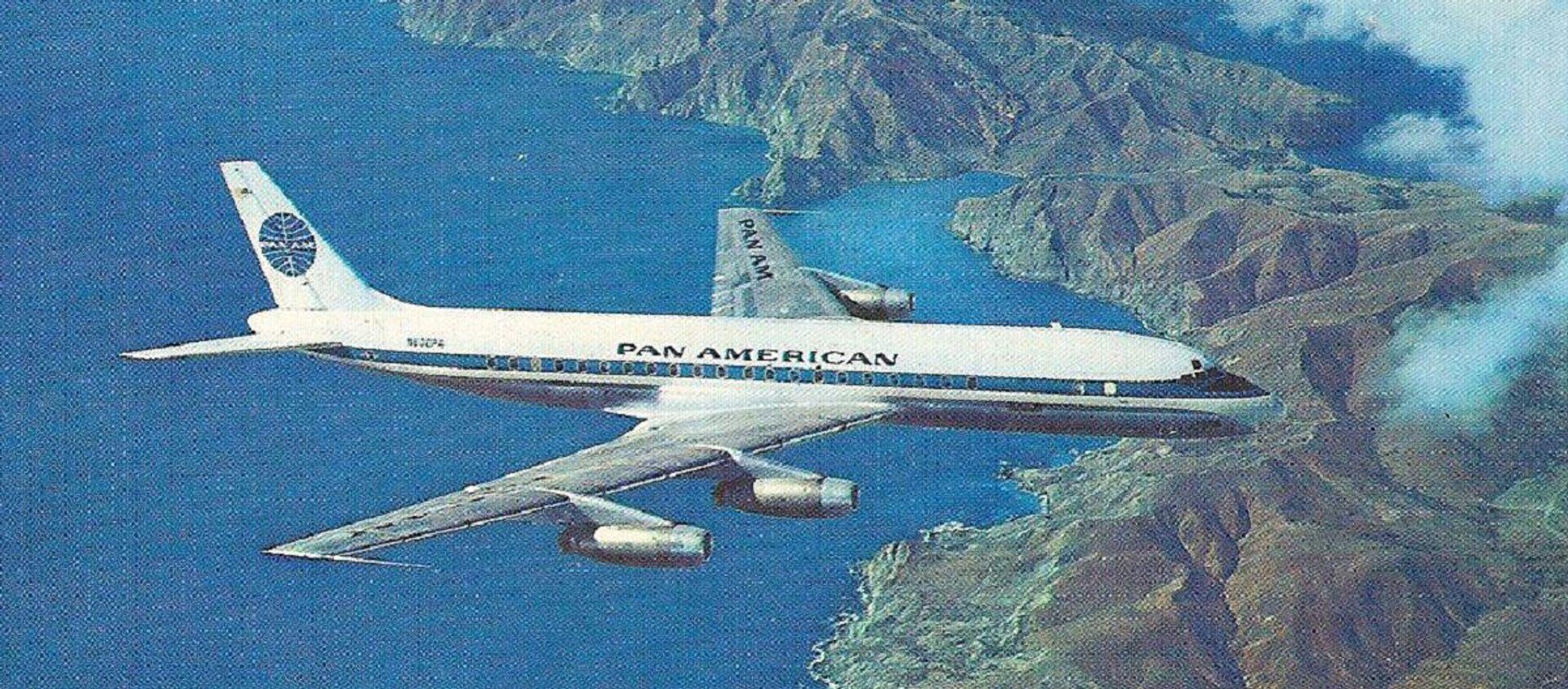 El avión Douglas DC- 8 (imagen referencial) - Sputnik Mundo, 1920, 06.10.2020