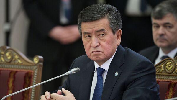 Sooronbái Zheenbékov, el presidente de Kirguistán - Sputnik Mundo