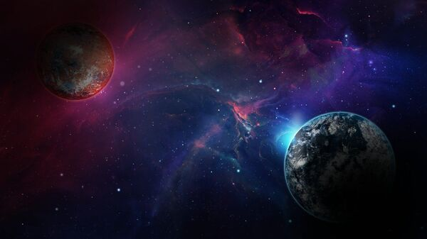 Unos planetas (ilustración) - Sputnik Mundo