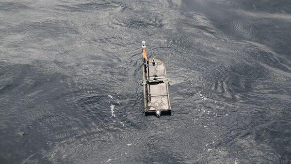 Una embarcación autónoma Wave Glider de la marca Liquid Robotics (archivo) - Sputnik Mundo