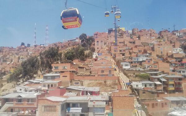 Teléferico El Alto-La Paz - Sputnik Mundo