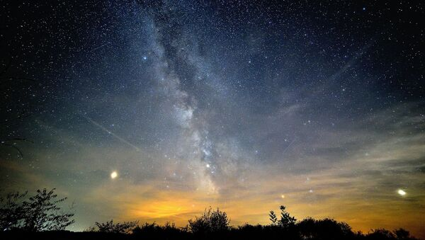 Imagen referencial cielo estrellado - Sputnik Mundo