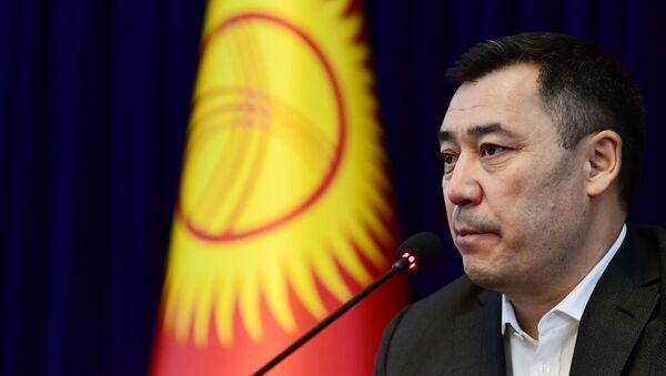 Sadir Zhapárov, el nuevo primer ministro de Kirguistán - Sputnik Mundo