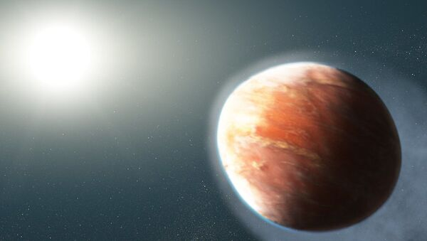 El exoplaneta WASP-121b - Sputnik Mundo