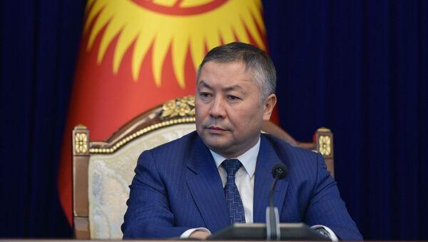 Kanat Isáev, el nuevo presidente del Parlamento kirguís - Sputnik Mundo