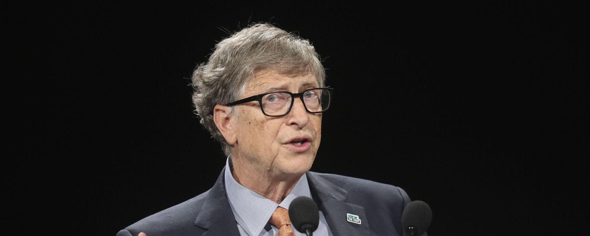 Bill Gates, multimillonario y filántropo estadounidense - Sputnik Mundo, 1920, 26.02.2021