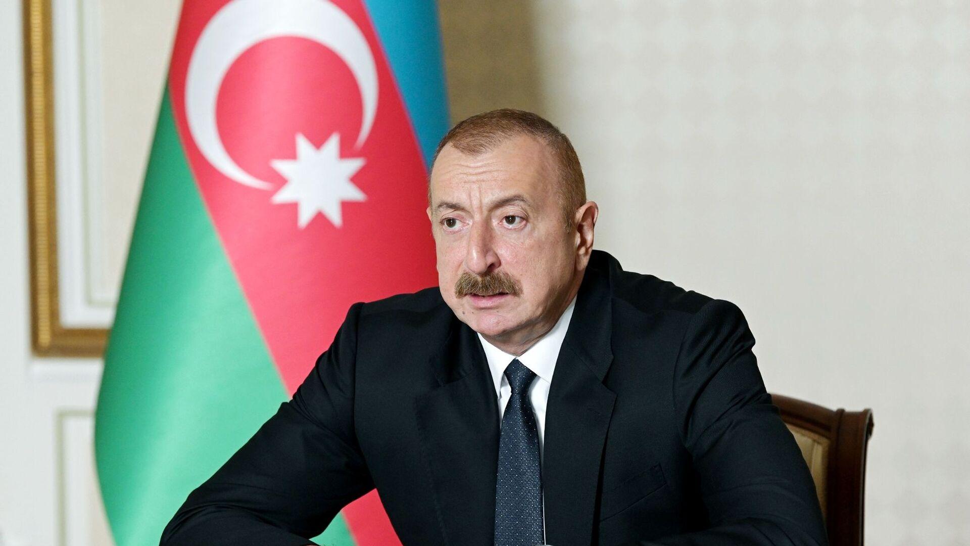 Ilham Aliyev, presidente de Azerbaiyán - Sputnik Mundo, 1920, 28.09.2021