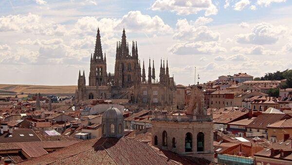 La ciudad de Burgos, la comunidad de Castilla y León, España - Sputnik Mundo