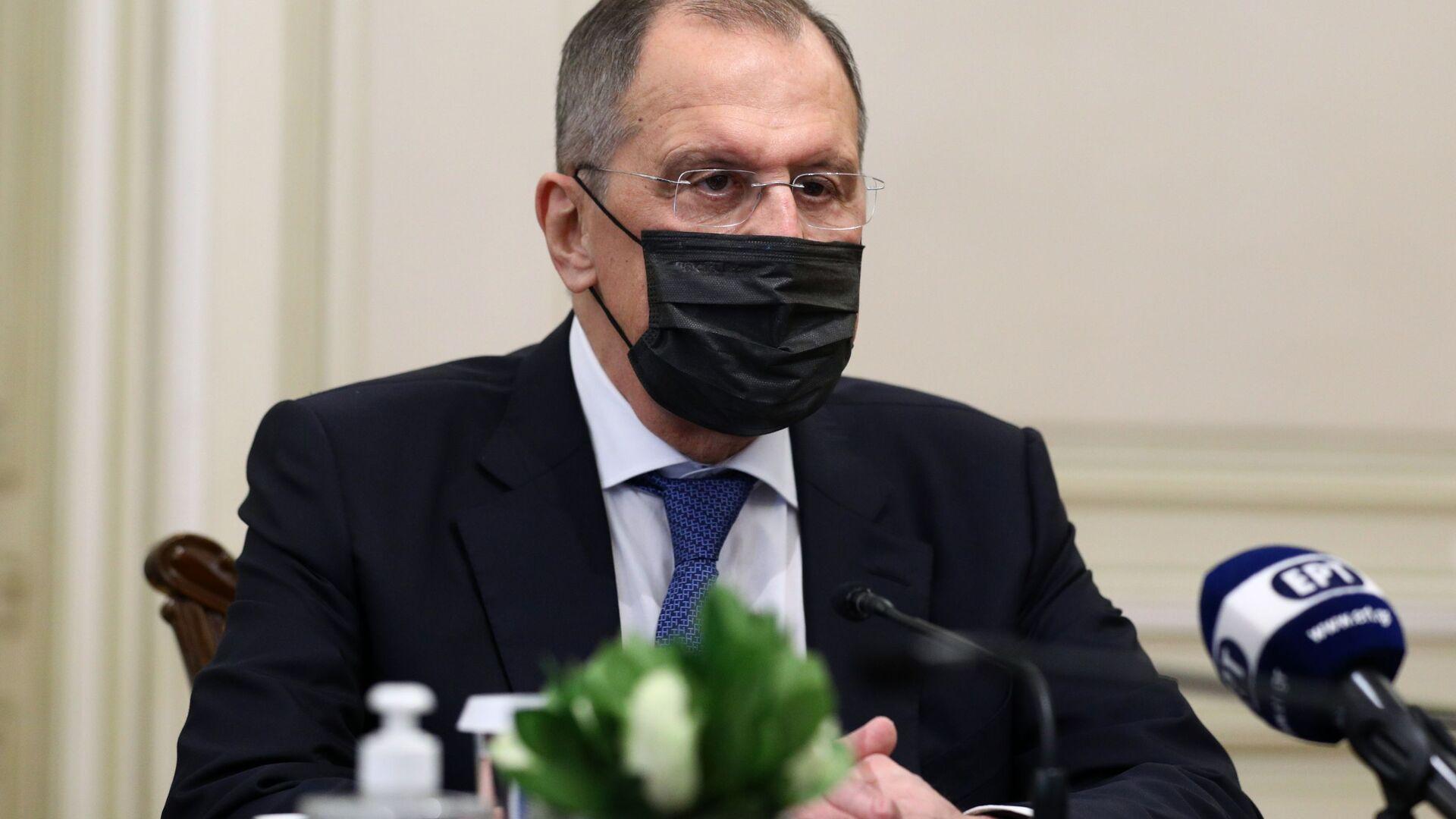 Serguéi Lavrov, el ministro ruso de Asuntos Exteriores - Sputnik Mundo, 1920, 25.03.2021