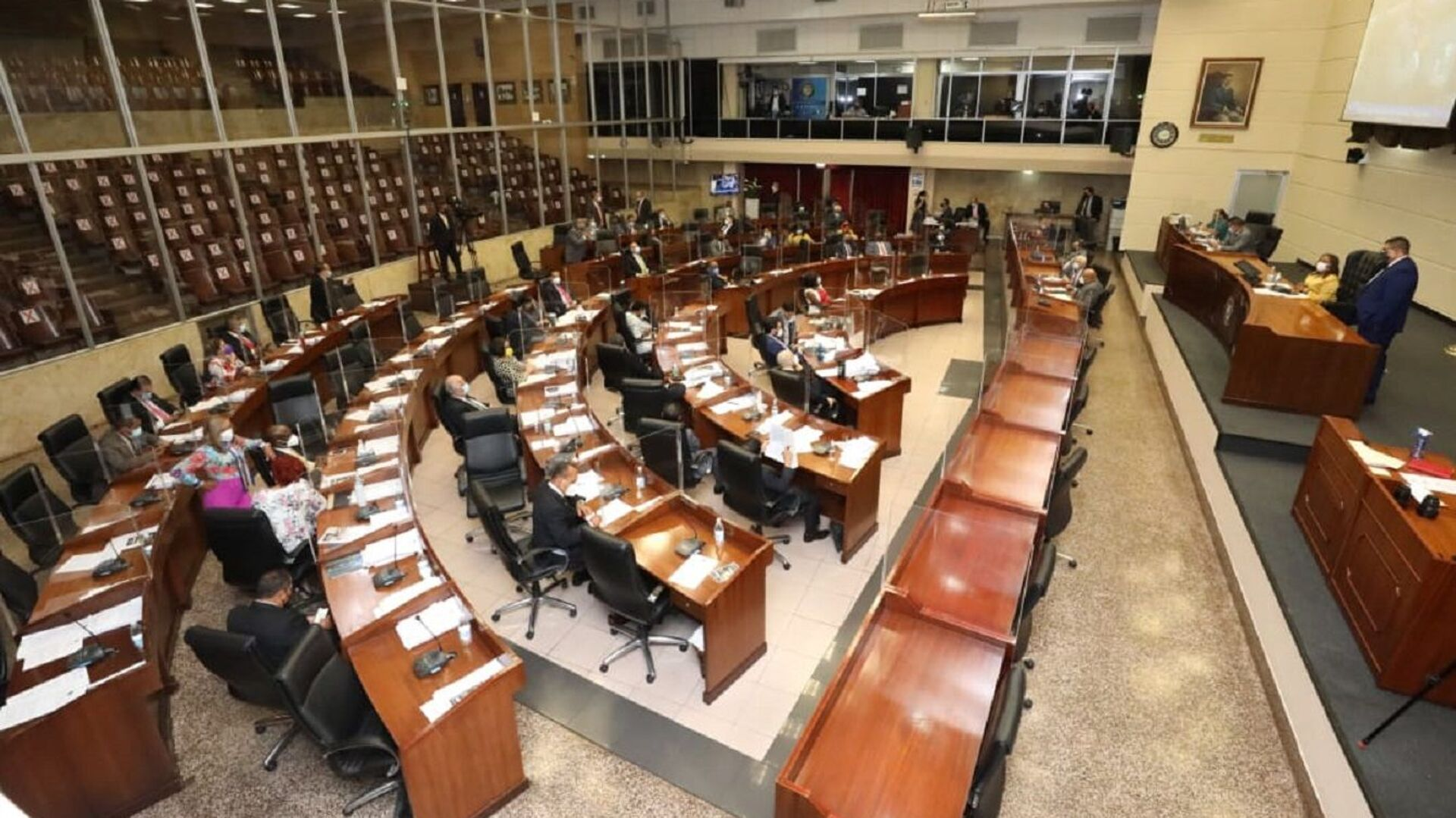 Pleno de la Asamblea Nacional de Panamá  - Sputnik Mundo, 1920, 06.10.2021