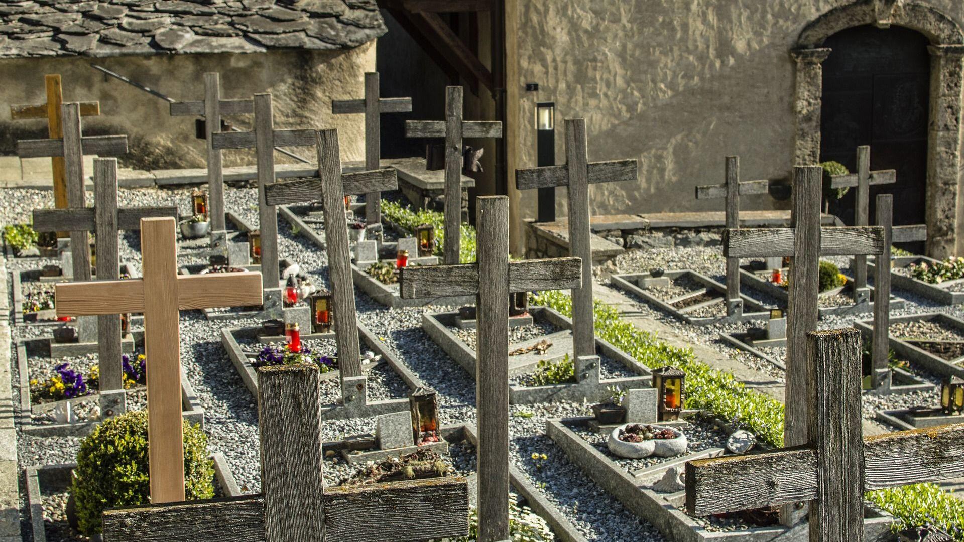 Un cementerio (imagen referencial) - Sputnik Mundo, 1920, 29.07.2021