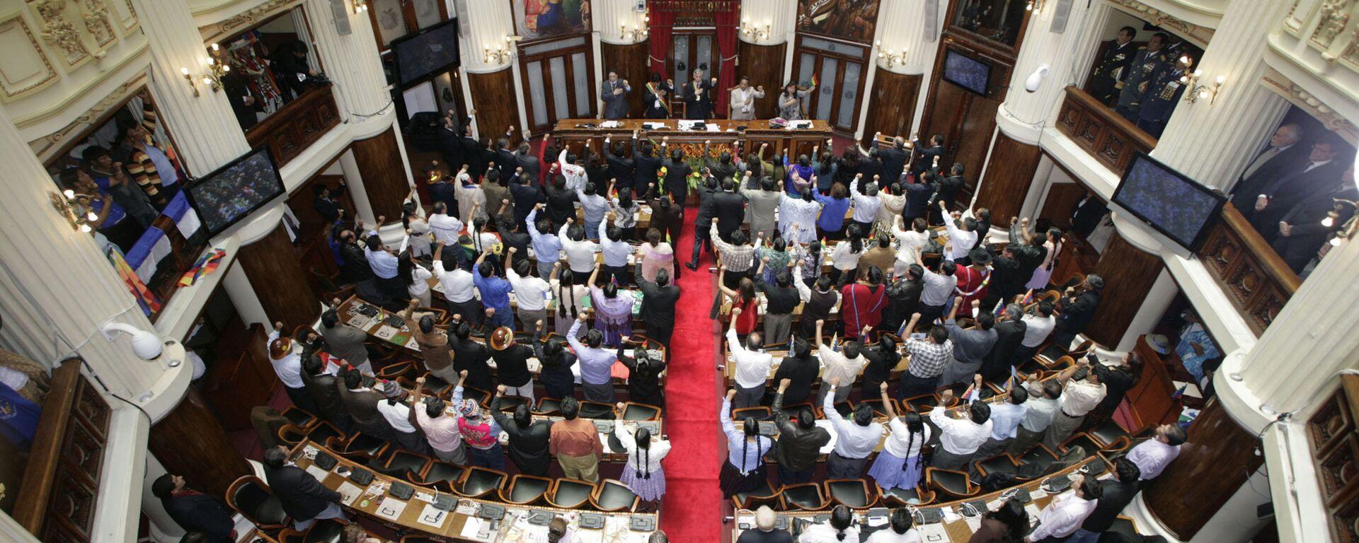 La Asamblea Legislativa de Bolivia - Sputnik Mundo, 1920, 13.08.2021