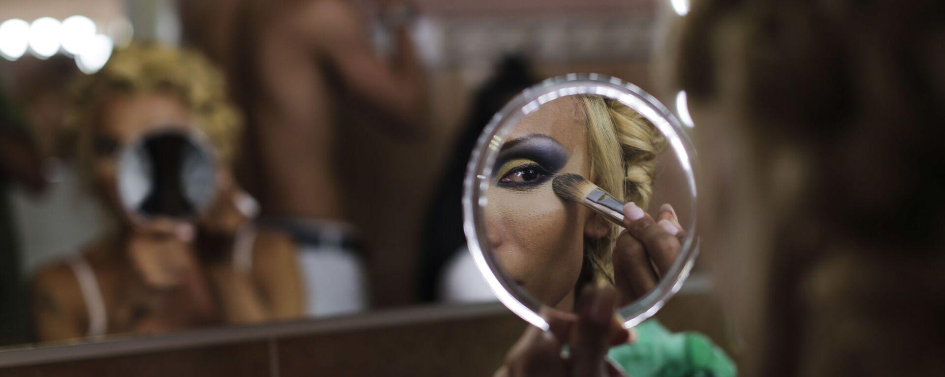 Concursante del espectáculo Miss Trans Star International 2016 celebrado en Barcelona, España. 18 de septiembre de 2016 - Sputnik Mundo, 1920, 03.11.2020