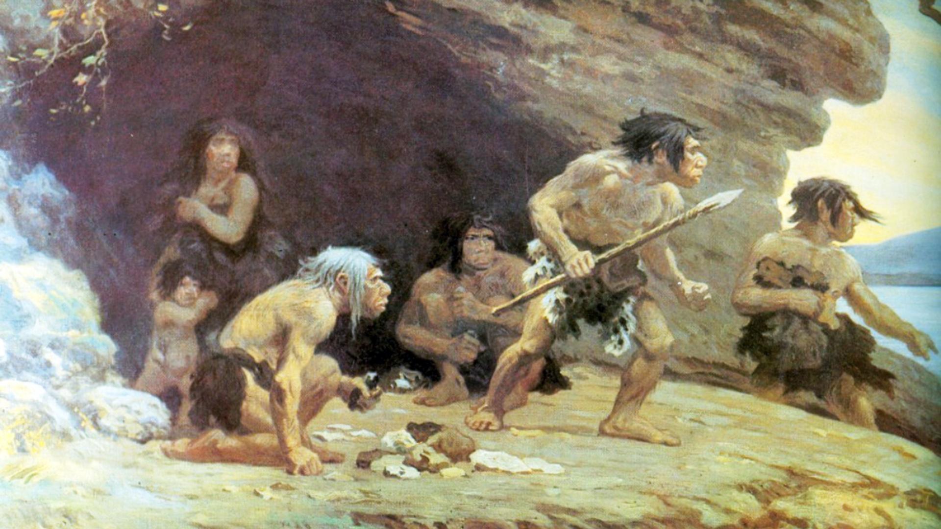 Los neandertales, imagen ilustrativa - Sputnik Mundo, 1920, 05.02.2021