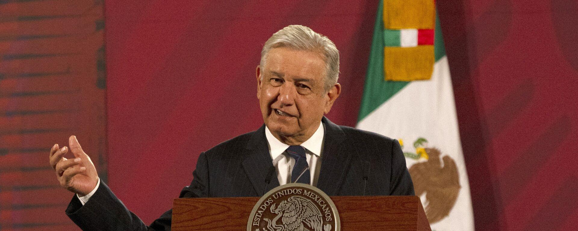 Andrés Manuel López Obrador, presidente de México - Sputnik Mundo, 1920, 22.01.2021