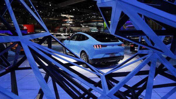 Mustang Mach-E 2021 de Ford - Sputnik Mundo