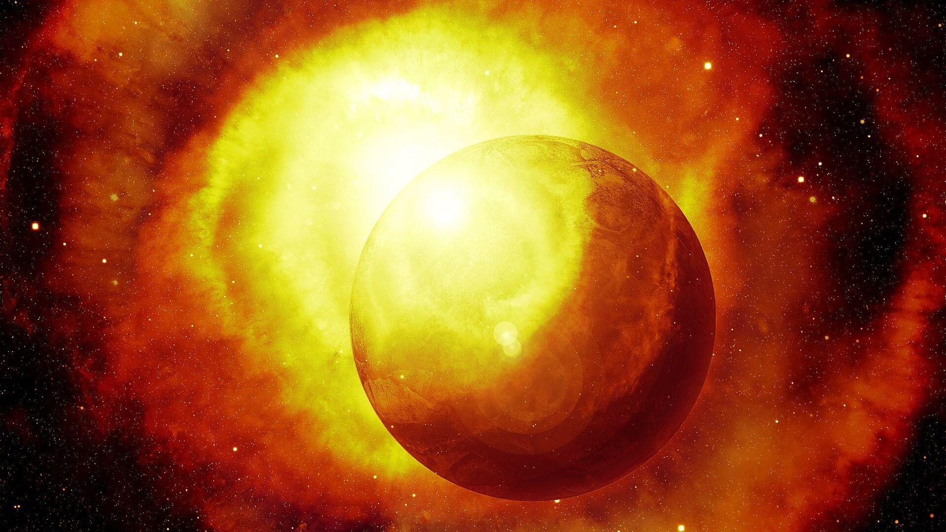 Un planeta (imagen referencial) - Sputnik Mundo, 1920, 12.10.2021