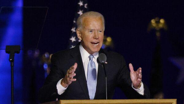 Joe Biden, candidato presidencial por partido Demócrata - Sputnik Mundo