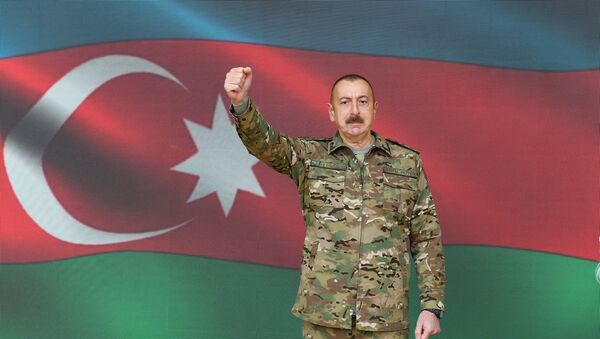 Ilham Aliyev, el presidente de Azerbaiyán - Sputnik Mundo