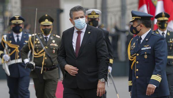 Manuel Merino, titular del Congreso de Perú - Sputnik Mundo