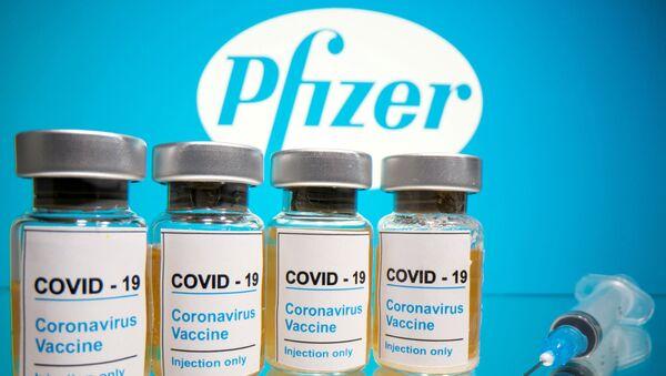 Vacuna contra coronavirus de Pfizer - Sputnik Mundo