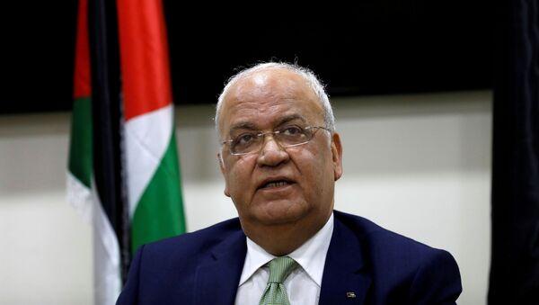 Saeb Erekat, secretario general de la Organización para la Liberación de Palestina - Sputnik Mundo
