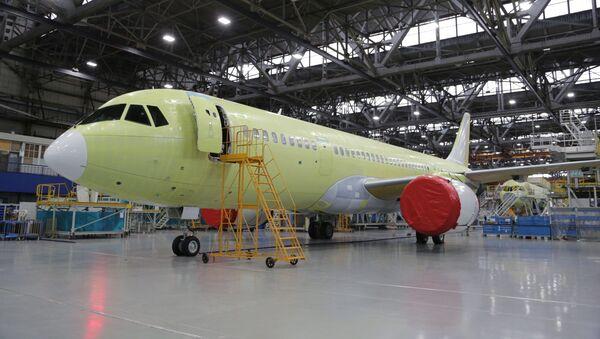 El prototipo del avión MC-21-310 - Sputnik Mundo