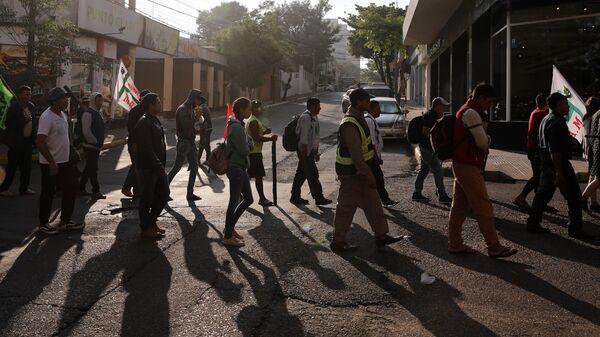 Campesinos marchan en Asunción, Paraguay (archivo) - Sputnik Mundo