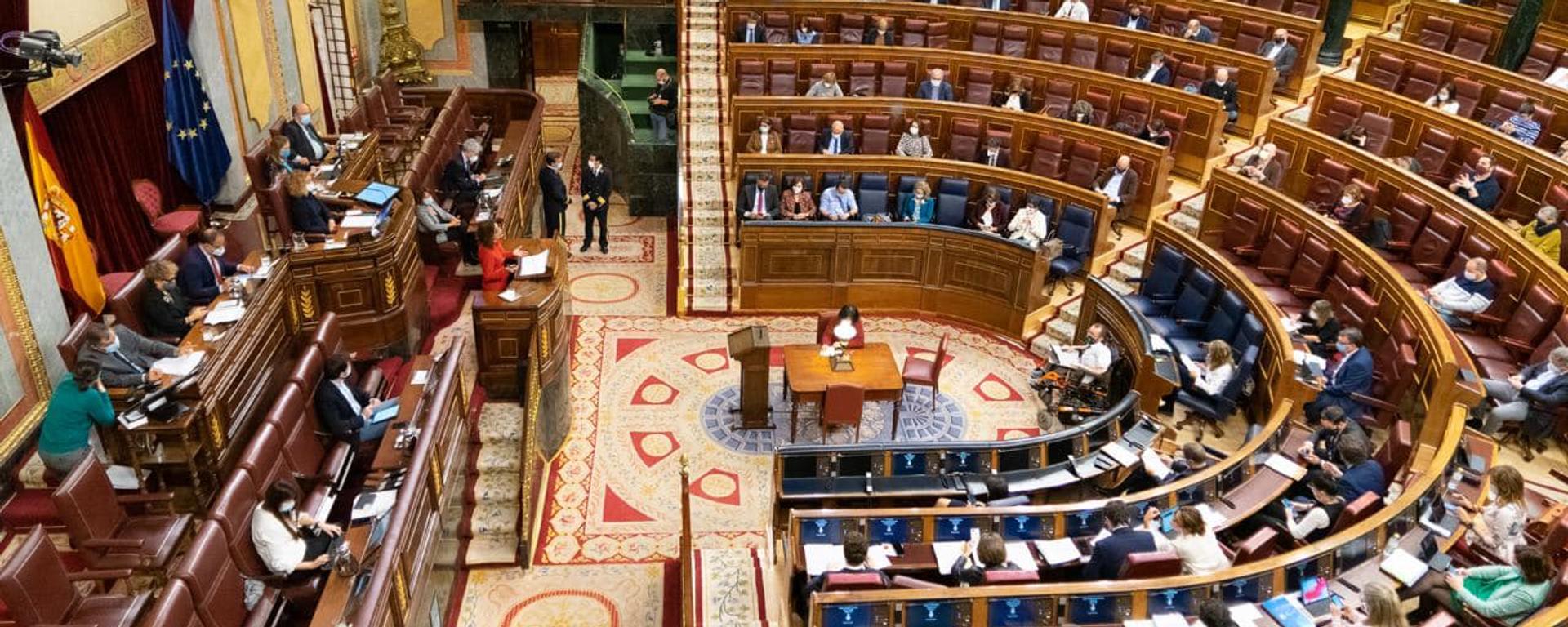 Debate de los Presupuestos Generales del Estado en el Congreso de los Diputados de España - Sputnik Mundo, 1920, 12.02.2021