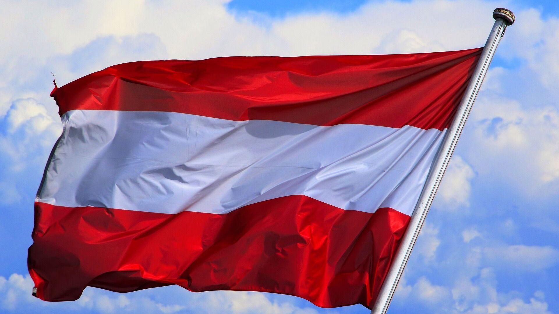 La bandera de Austria - Sputnik Mundo, 1920, 04.08.2021