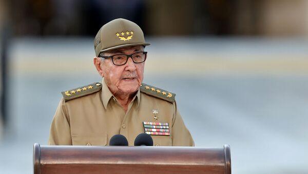 Raúl Castro, líder del Partido Comunista y expresidente de Cuba - Sputnik Mundo